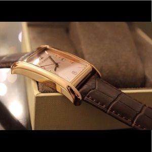 Burberry leather watch